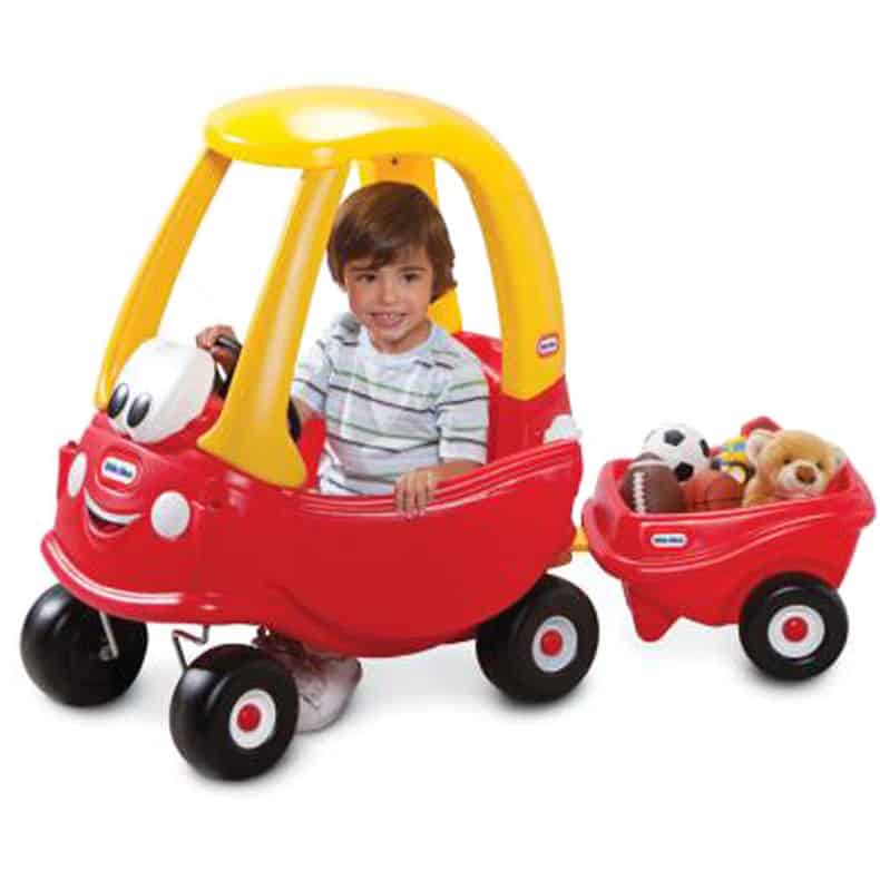 Cozy Coupe 30th Anniversary With Trailer Cxc Toys Amp Babies