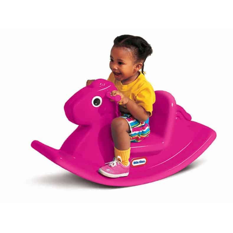 little tikes rocking horse magenta cxc toys babies. Black Bedroom Furniture Sets. Home Design Ideas