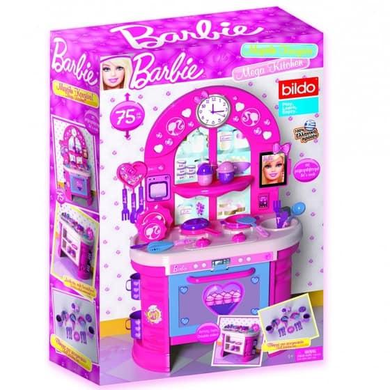 barbie mega kitchen set | cxc toys & babies