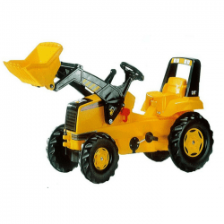 rolly toys tractor yellow cyprus by cxc toys & babies