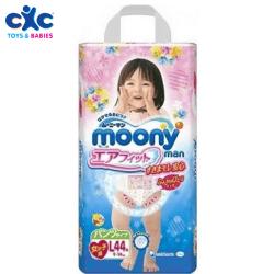 moony girls pants large