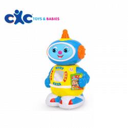 Doctor Robot 360 Rotating Robot Musical Walk Lighten Electronic Toy-cxctoys-limassol-cyprus
