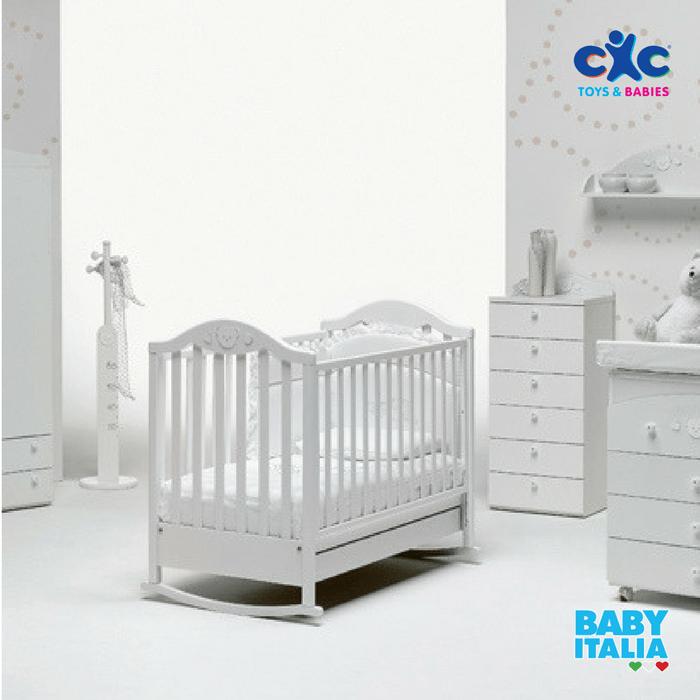 Baby Italia Children Wooden Bed Didi White Cxc Toys Baby Stores