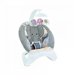 Baby Bouncer Elephant Grey