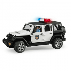 Bruder - Jeep Wrangler Rubicon Police -cxctoys-limassol-cyprus