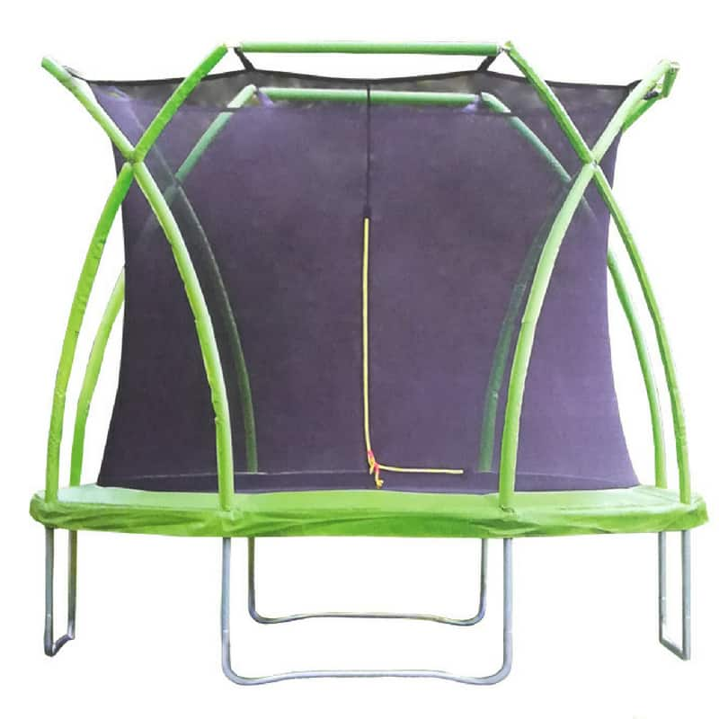Ozzy Crown 8FT Trampoline With Safety Net And Ladder