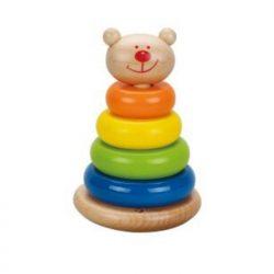 Bear Tower-wooden toys-cxctoys